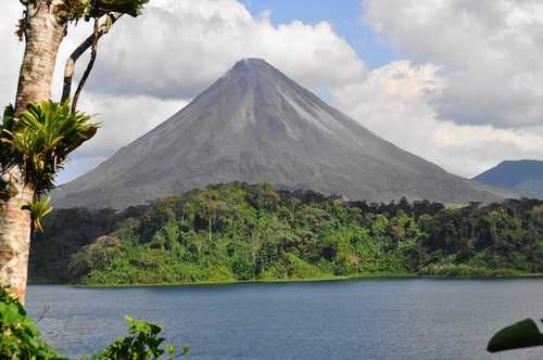 Arenal Lake and Volcano