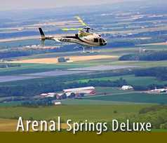 Arenal Springs Deluxe Heli Tour