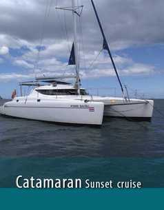 Catamaran Sailing Sunset Tour