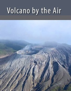 Volcano from the air